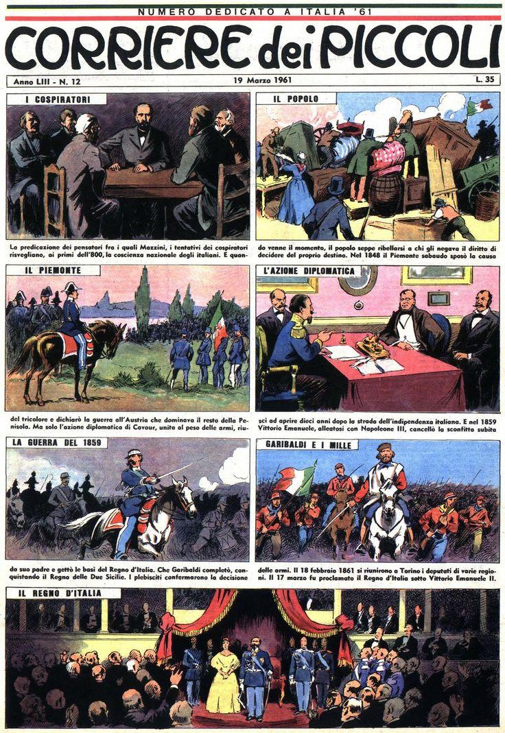 CdP 1961-12 Corrierino e Giornalino: Unità d'Italia