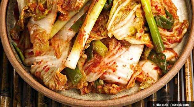 Healthy Korean Kimchi