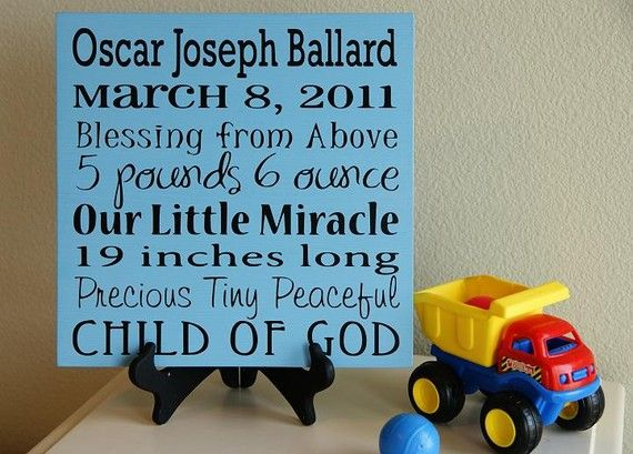 cute board from word whipped: Baby Announcement, Baby Subway Art, Art Soooo, Kids Room Art, Kids For, Kids Rooms
