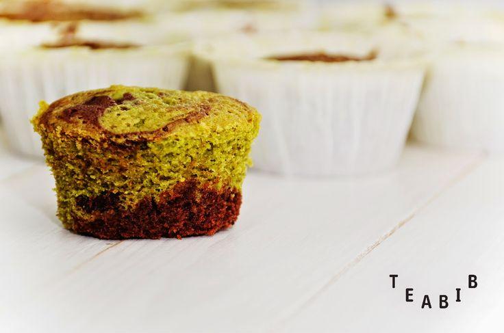 Tee sitä tee tätä: HOW TO // Matcha-suklaamuffinssit // Matcha-chocolate cupcakes