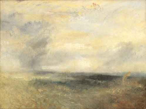 Joseph Mallord William Turner | Margate (?), from the Sea | NG1984 | The National Gallery, London