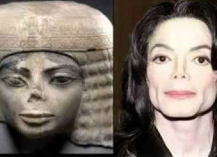 """It's seems very likely that Michael Jackson took this statue to his plastic surgeon and said  """"I want to look like this."""""""