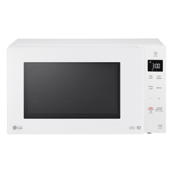 LG Electronics 1.3 cu. ft. Countertop Microwave in White