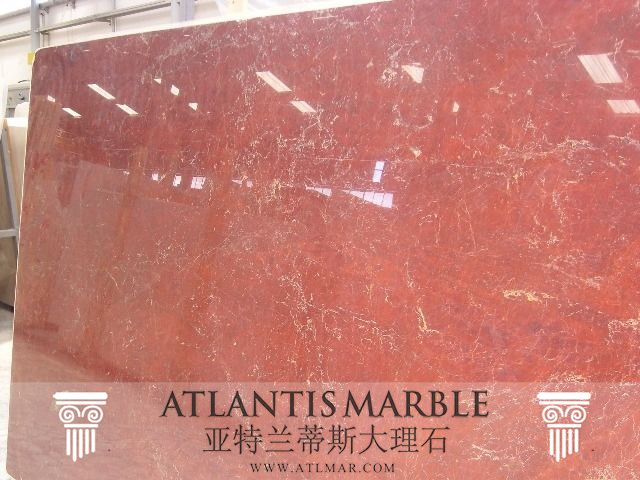 Turkish Marble Block & Slab Export / RED SNOW Marble   http://www.atlmar.com/product/221-turkish-marble-red-snow-slab.html