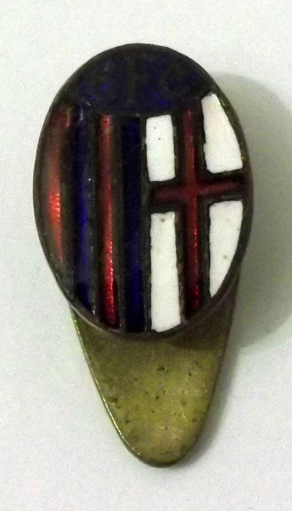 Distintivo Bologna FC (Produttore Sapicchiani E Barlacchi)