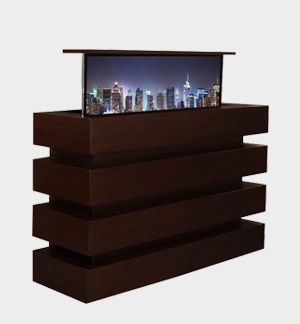 Small Le Bloc In Stock Modern Pop Up TV Lift Furniture