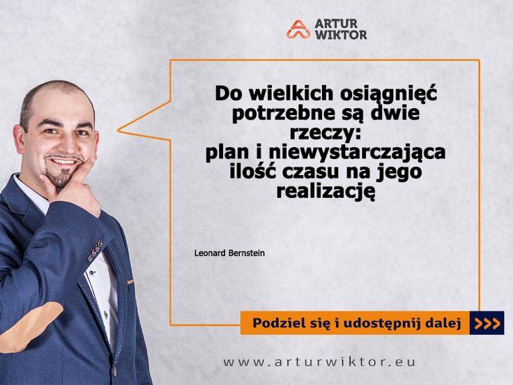 Zawsze powtarzam: konkretny plan to 80% sukcesu! :)