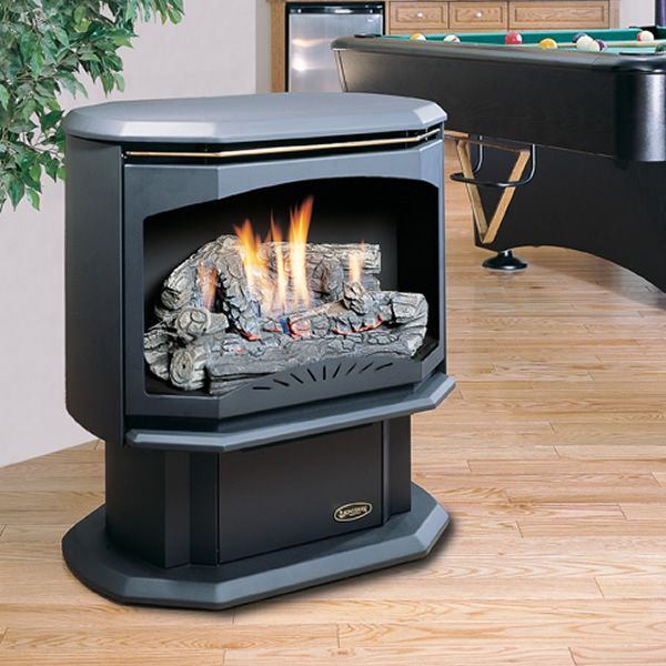 Kingsman Fvf350 Vent Free Gas Stove Free Standing Gas Stoves Gas Stove Gas Fireplace