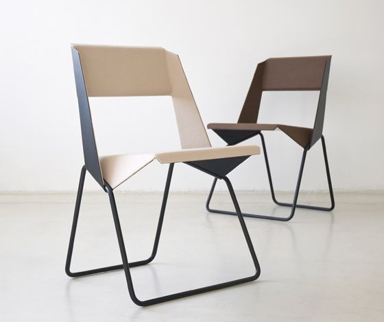 'LUC' chair by böttcher+henssler: Modern Chairs, Luc Chairs, Offices Design, Furniture Design, Offices Chairs, Folding Chairs, Man Caves, Chairs Design, Böttcher Henssl