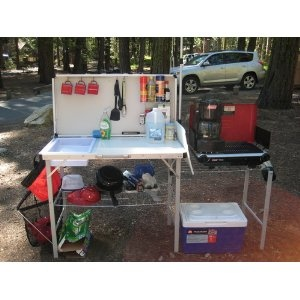 coleman camp kitchen with sink 1000 images about camping kitchens amp chuck boxes on 8243