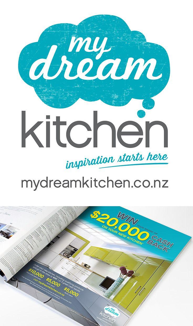 My Dream Kitchen identity.