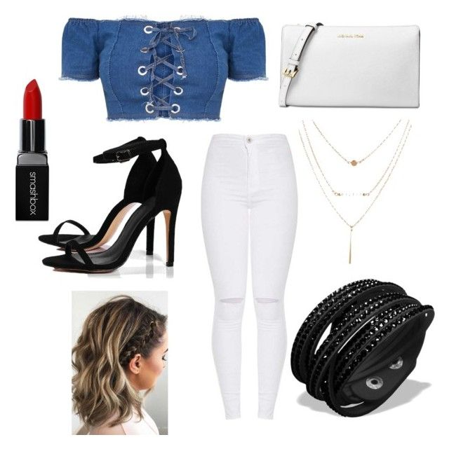 """""""Untitled #53"""" by parvanitagis on Polyvore featuring Boohoo, Michael Kors and Smashbox"""