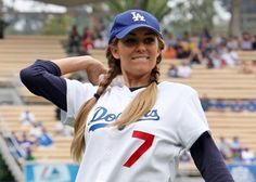 Lauren Conrad at LA Dodgers game