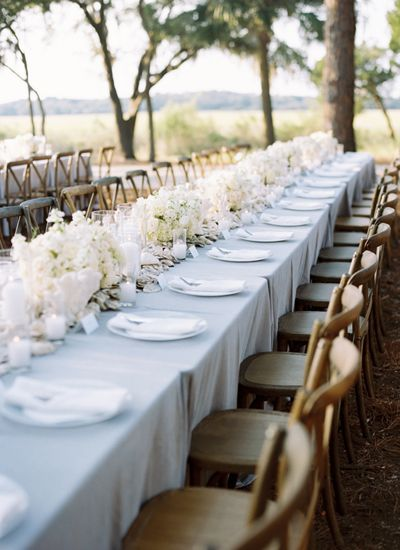 25 Best Ideas About Blue Table Settings On Pinterest