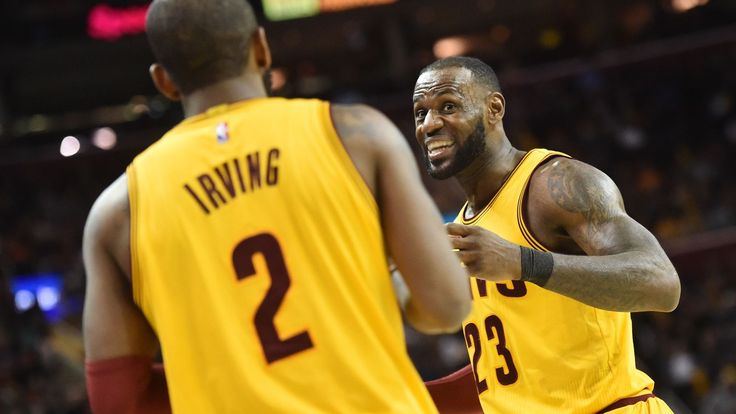 The duo combined for 81 points on Friday, and Cleveland tied its own NBA record with 25 threes.