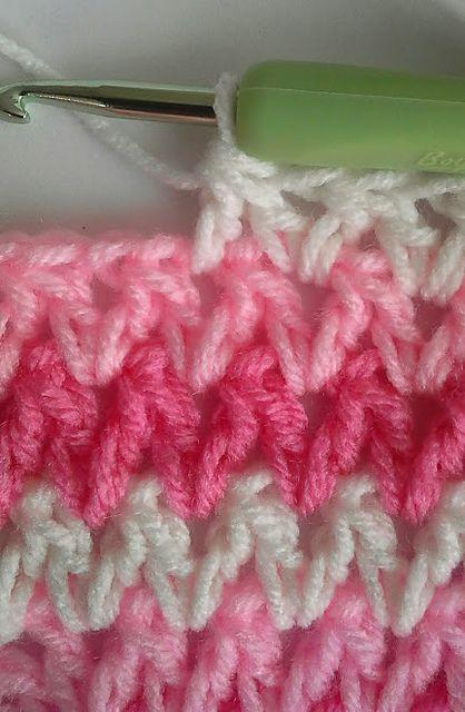 Ravelry: Wobbly Squares Blanket pattern by Jennifer Uribe
