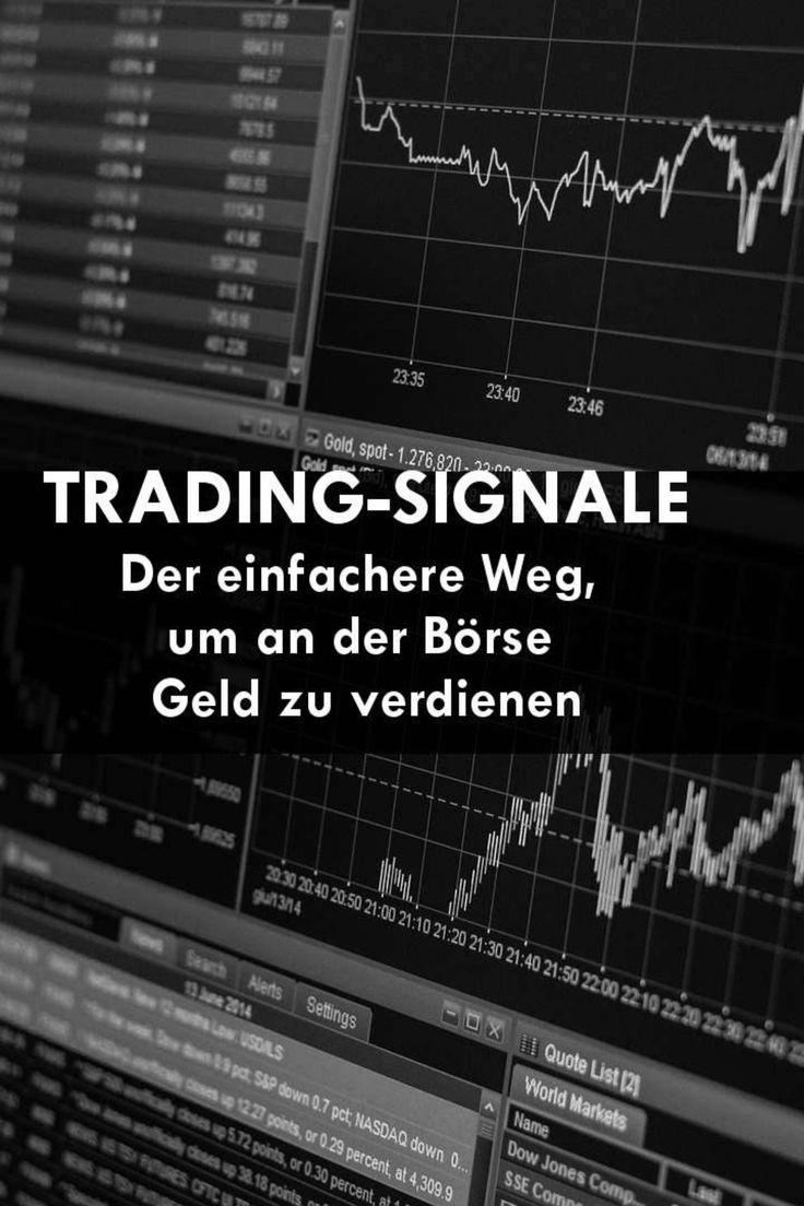 Ein Handels Signal Tradingsignal Ist Eine Einfache