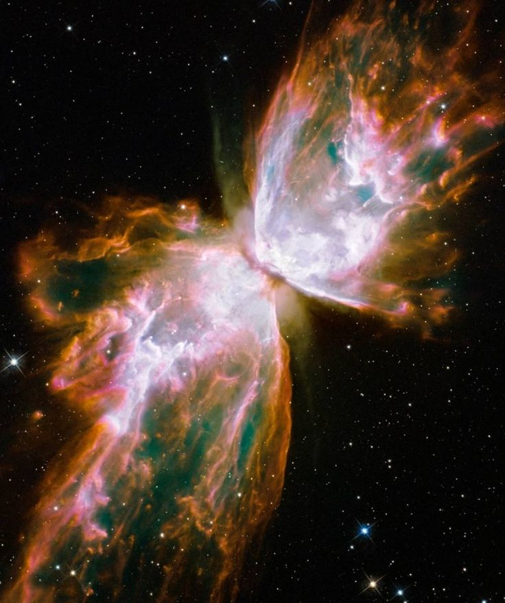 The Butterfly Nebula - aspects of reality