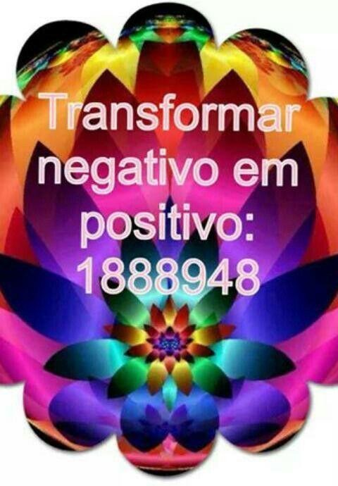 Negativo em positivo