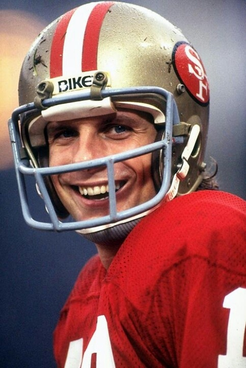 """""""Joe Cool""""- Joe Montana...such a hot one in his day!"""