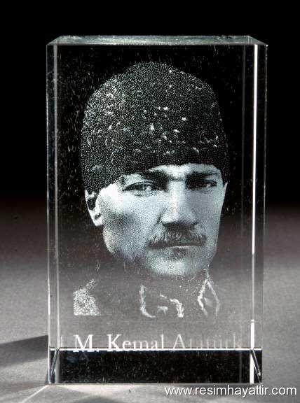 Cam RÖLYEF Atatürk Resimleri