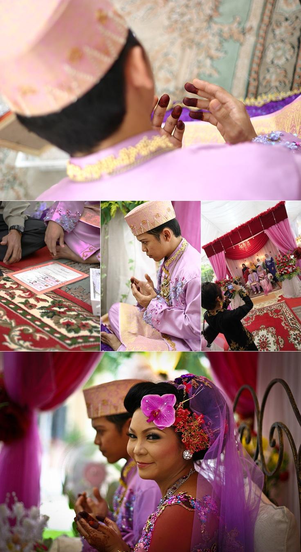Nizam & Nura Actual Day Malay Wedding Photography by OnceUponImages.com