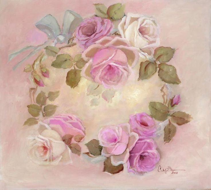 картинки розы в стиле шебби шик понял