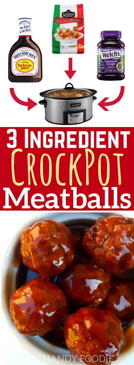 This easy grape jelly meatballs crockpot recipe is THE BEST! I'm so happy I found this on many of my well-kept barbecue sauce recipes. Now I have this as one of the easiest crockpot recipes meals for lazy days! I will include this in my list of quick easy recipes. Truly, this is one of the best crockpot meals out there. Definitely pinning!