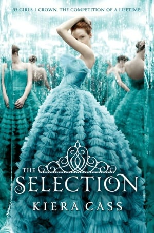 The Selection--really awesome book! A little like the Hunger Games....can't wait for the other books to come out! Definitely a must read for the summer!