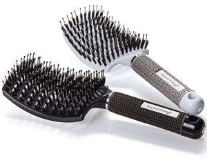 2. Repsol Care Boar Bristle Hair Brush