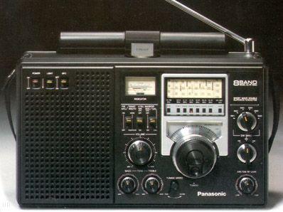 Panasonic RF-2200 Field Radio. My second shortwave radio. Still works! Great post vacuum shortwave.