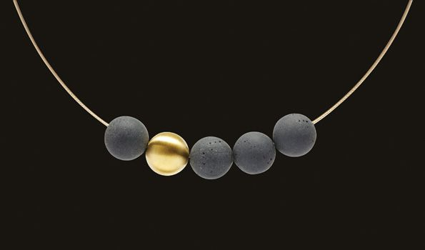 Concrete and Stainless Steel Jewelry | KONZUK
