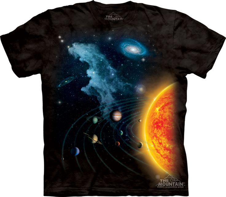 big solar system t-shirt - Alien T-Shirts - tees - green t-shirts - funnny tshirts - fantasy t-shirts - scary t-shirts - zombie t-shirts - death t-shirts - gift ideas for christmas - ideas for christmas - unicorn t-shirts - robot t-shirts - epic t-shirts
