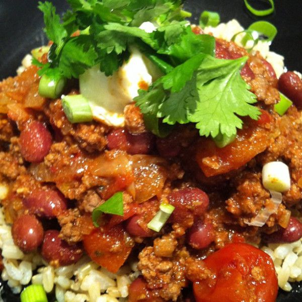 CHILLI CON CARNE CLEAN EATING STYLE