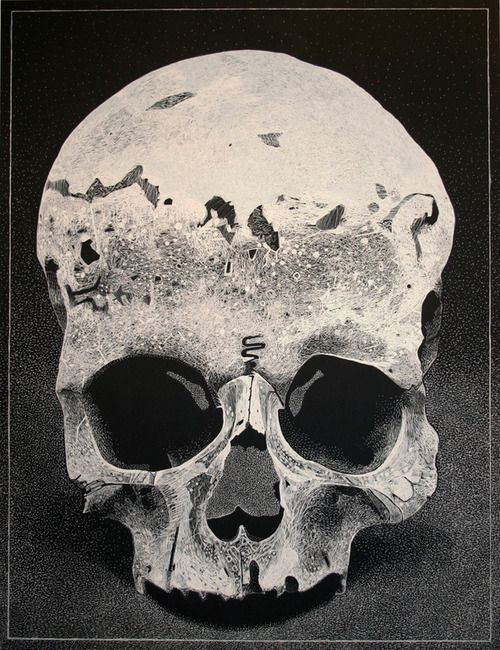 The skull is the symbol most often associated with Hamlet, not only because of the scene with Yorick's skull, but also because Hamlet is so obsessed with death.