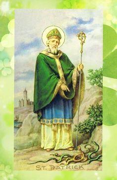 Oracion Poderosa de San Patricio… (Nacio en 386 y murio 17 de marzo de 493)    La hermosa oración de San Patricio, popularmente cono...