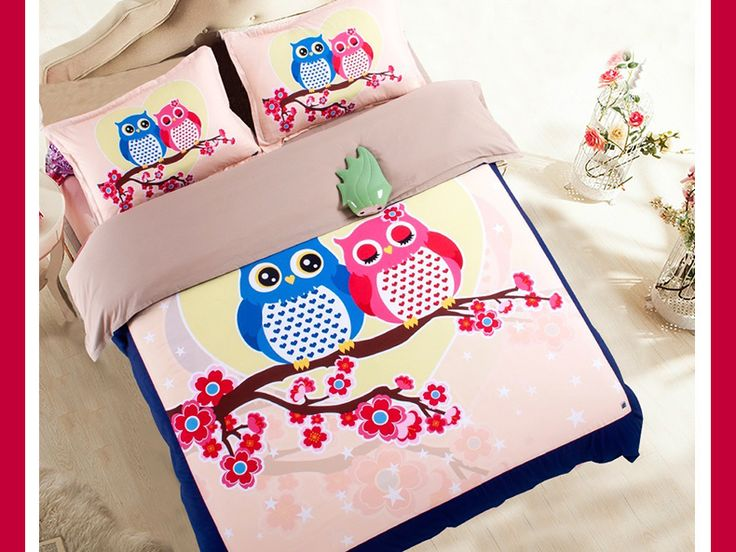 best price on japan totoro twin owl bedding set twin queen king size price