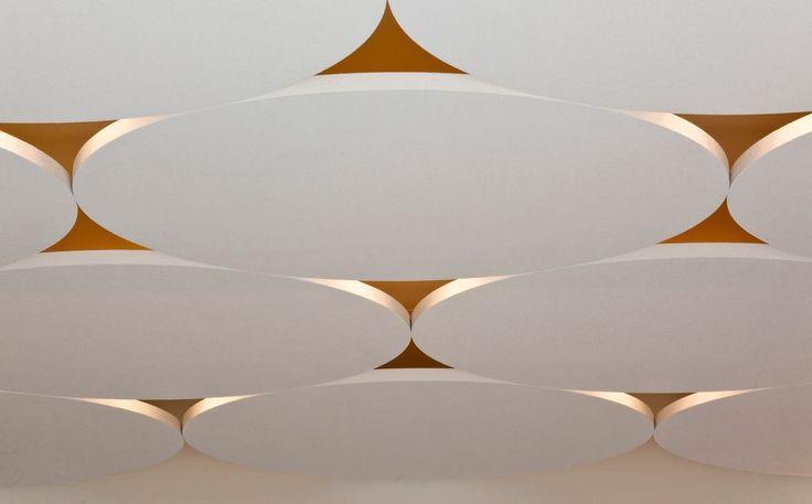 17 meilleures id es propos de plafond acoustique sur for Faux plafond decoratif