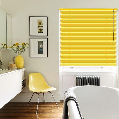Lemon Punch Venetian blinds