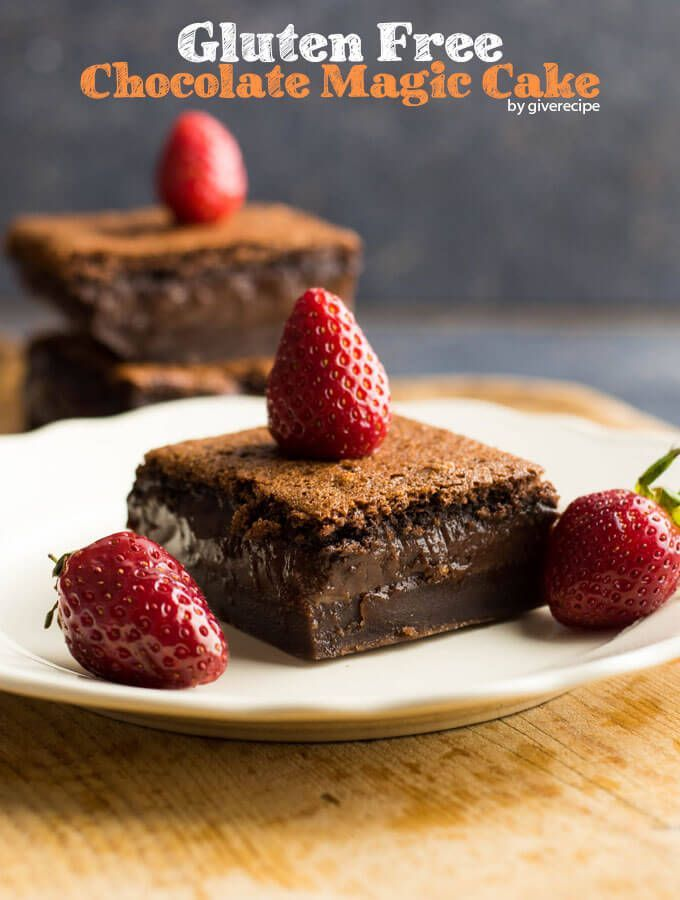 layered chocolate cake. This chocolate custard cake is gluten-free ...