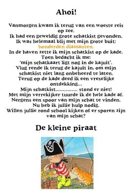 piratenfeest kleuters