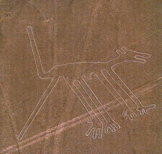 El Perro. Nazca, Peru.