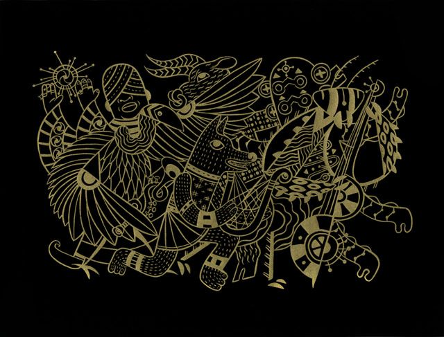 Jesse Tise...inspired by Japanese kaijuJesse Tiseinspir, Jesse Describing, Artists Jesse, Fantasy Art, Jesse Tise Inspiration, Canvas Wall Art, Based Artists, Monsters, Astral Planes