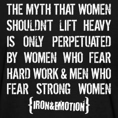 The Strong Woman - women's tee.