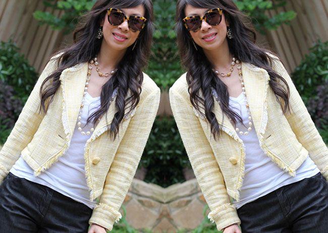 CAbi Spring '11 Daisy Jacket!: Clothing Style, Fashion Blog