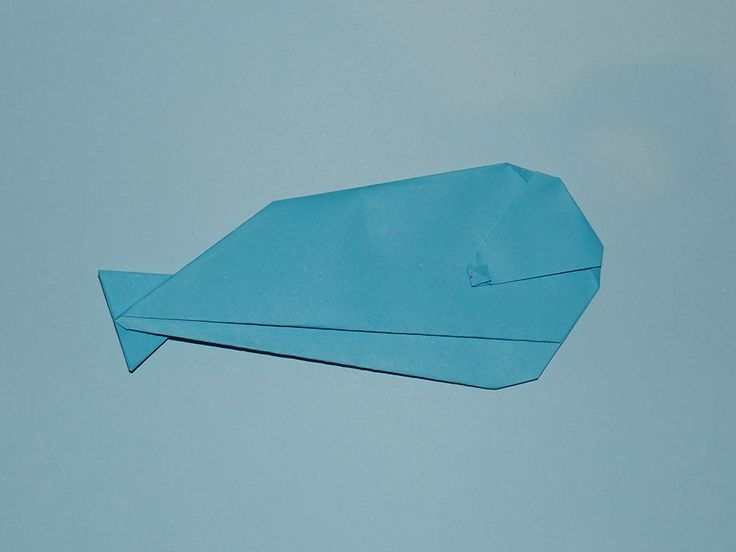 how to make an origami whale origami pinterest