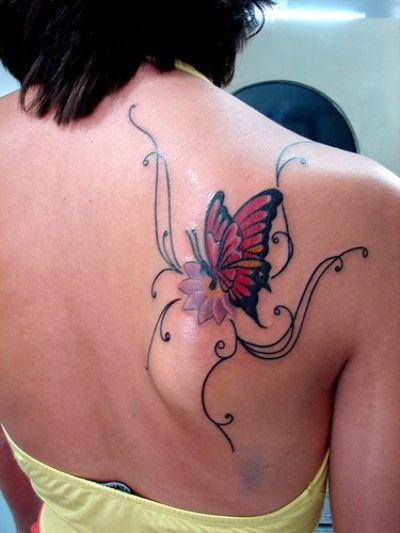 shoulder blade tattoos for women. Black Bedroom Furniture Sets. Home Design Ideas