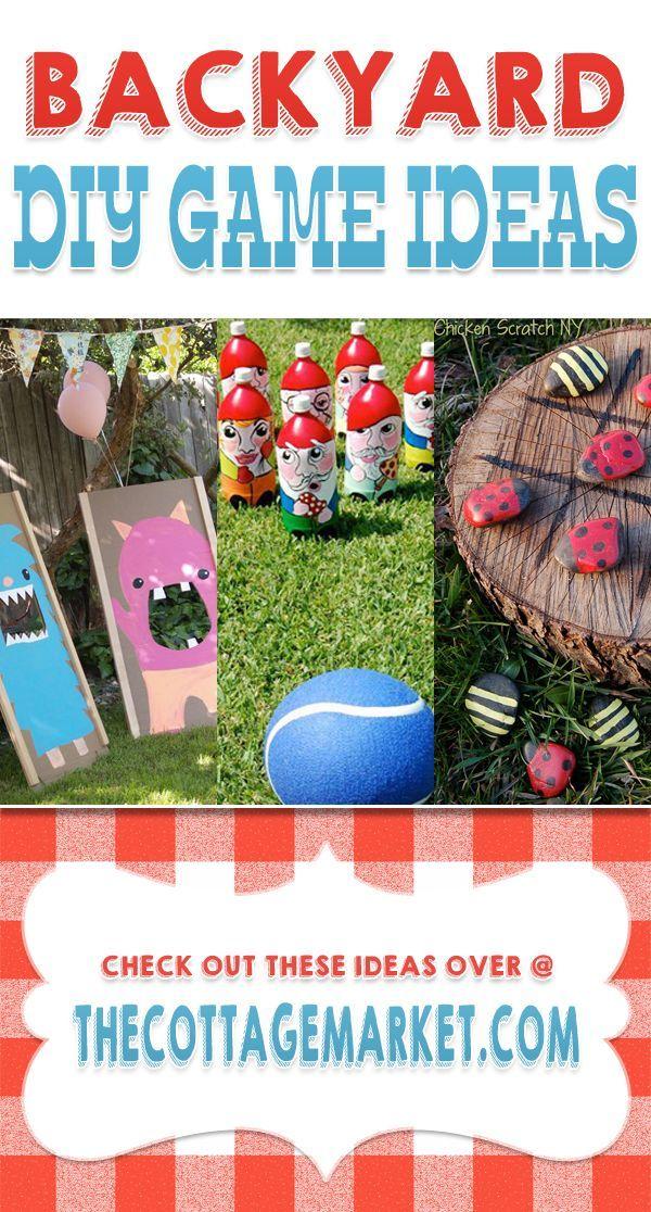 Backyard DIY Game Ideas - The Cottage Market