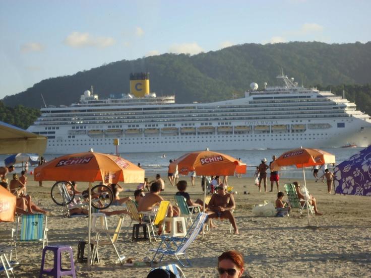 Navio de passageiros - Santos