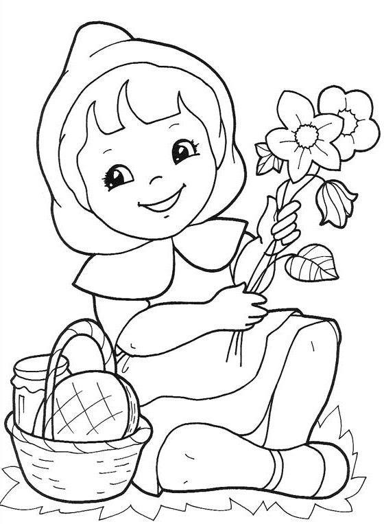 Jocuri pentru copii mari şi mici: Fişe şi planşe de colorat primăvara